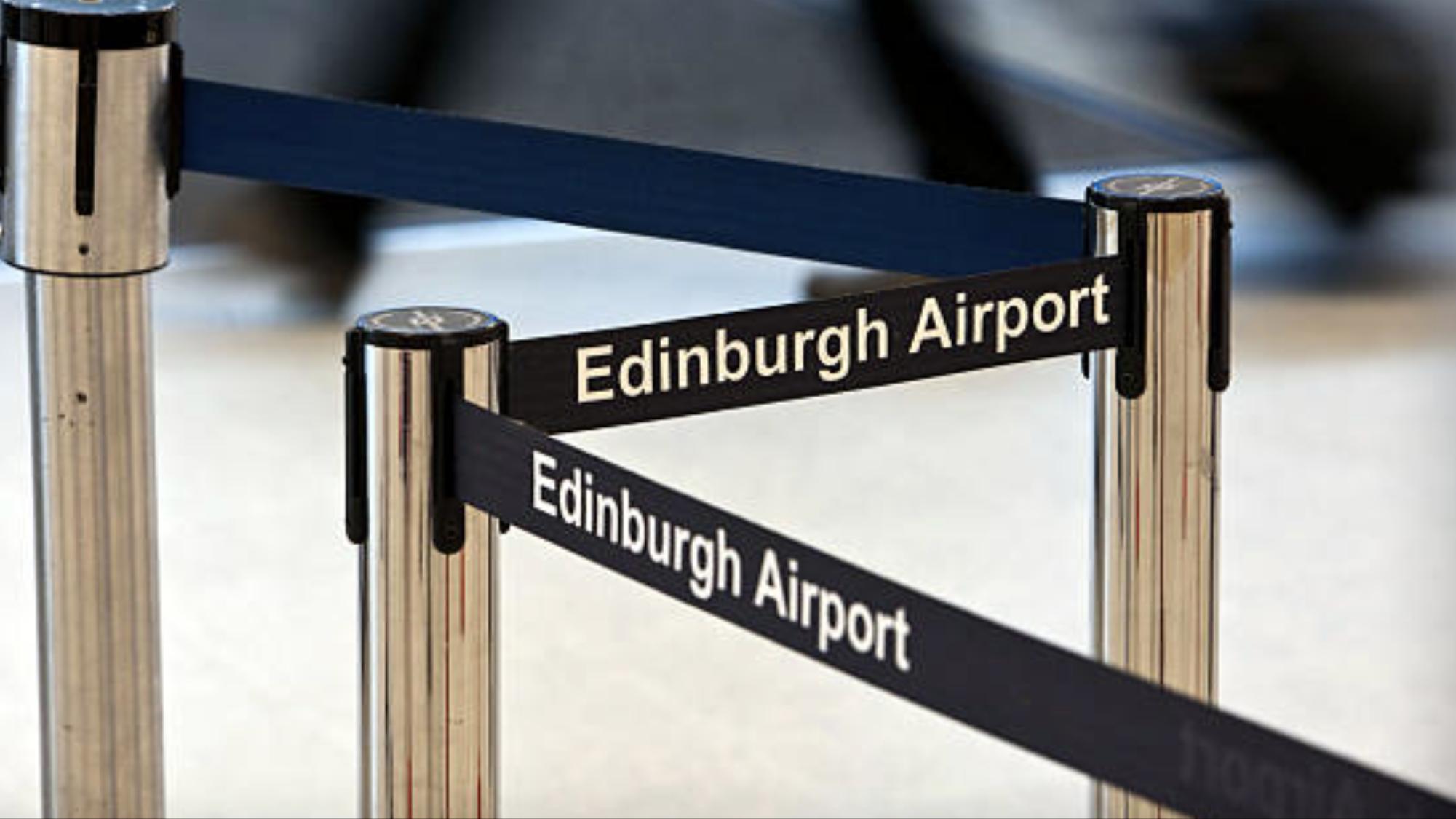 Edinburgh Airport Q Barriers