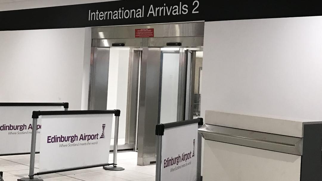 Edinburgh Airport Arrivals 2 Image