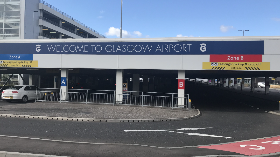 Glasgow Airport New Undercover Pickup Area