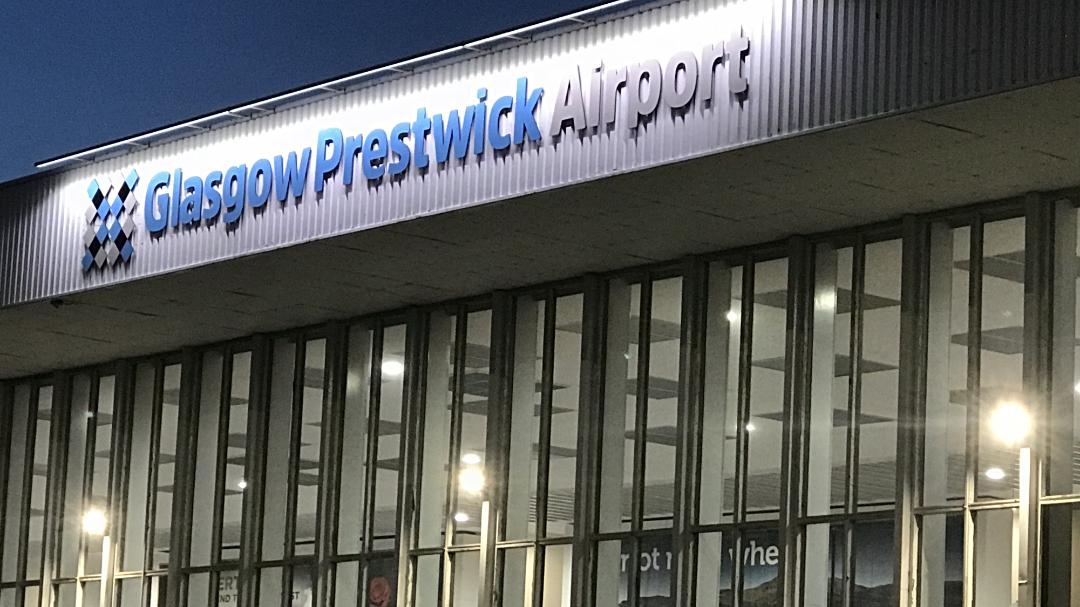 Taxi Prestwick Airport Terminal